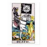 tarot-muerte tarjeta postal