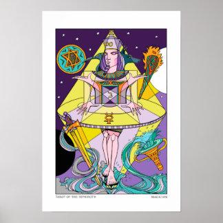 Tarot of the Sephiroth Magician Print