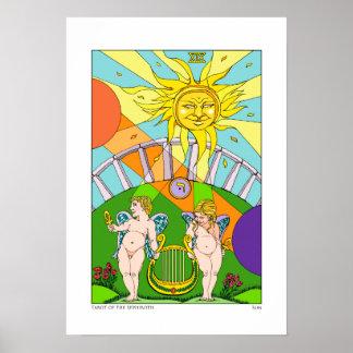 Tarot of the Sephiroth Sun Print