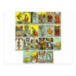 tarot post cards