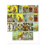 tarot postcard