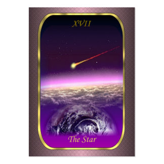 Tarot Profile Cards - The Star Card Large Business Card