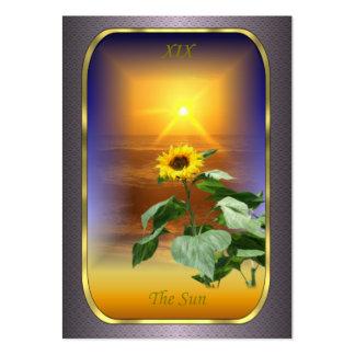 Tarot Profile Cards - The Sun