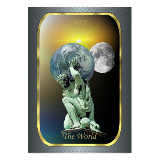 Tarot Profile Cards - The World