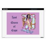 """Tarot  Queen  of  Cups Skin For 15"""" Laptop"""