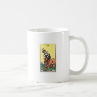 Tarot strength Strength Coffee Mug