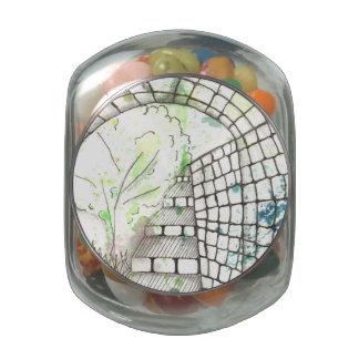 Tarot Symbol Arch 2 Jelly Belly Candy Jar