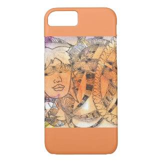 Tarot Symbol Blindfold iPhone 8/7 Case