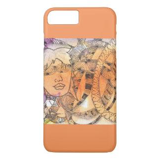 Tarot Symbol Blindfold iPhone 8 Plus/7 Plus Case