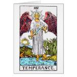 tarot-templanza tarjeta de felicitación