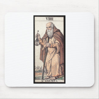 Tarot: The Hermit Mouse Pad