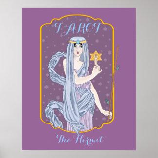 Tarot The Hermit Print