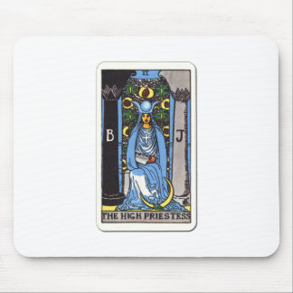 Tarot the high priest The High Priestess Mouse Pad