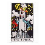 tarot-tower postcard