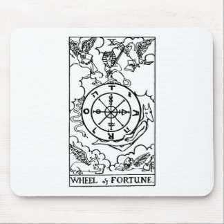 tarot 'wheel of fortune' mouse pad