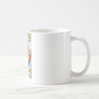tarot-wheel of fortune classic white coffee mug