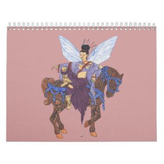Tarot y otros Imaginings Calendario De Pared