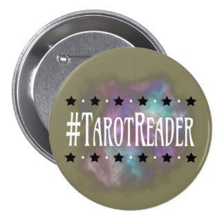 #TarotReader Taupe 3 in. Button