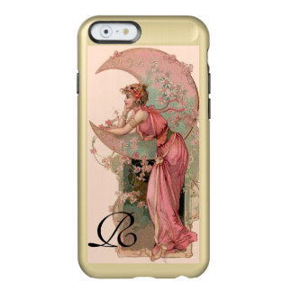 TAROTS / LADY OF THE MOON WITH FLOWERS IN PINK INCIPIO FEATHER® SHINE iPhone 6 CASE
