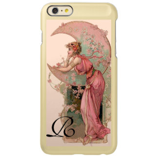 TAROTS / LADY OF THE MOON WITH FLOWERS IN PINK INCIPIO FEATHER® SHINE iPhone 6 PLUS CASE