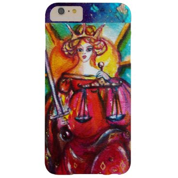 Lawyer Themed TAROTS OF THE LOST SHADOWS / JUSTICE BARELY THERE iPhone 6 PLUS CASE
