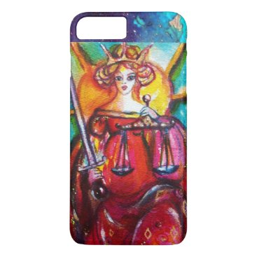 Lawyer Themed TAROTS OF THE LOST SHADOWS / JUSTICE iPhone 8 PLUS/7 PLUS CASE