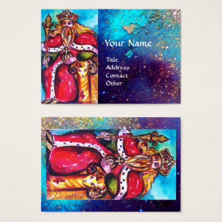 TAROTS OF THE LOST SHADOWS / THE EMPEROR BUSINESS CARD