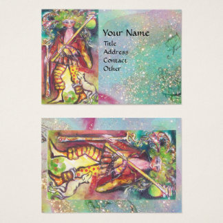 TAROTS OF THE LOST SHADOWS / THE FOOL BUSINESS CARD