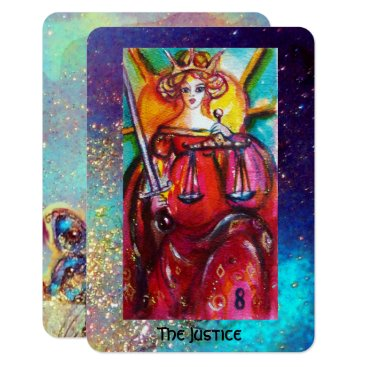 Lawyer Themed TAROTS OF THE LOST SHADOWS / THE JUSTICE CARD