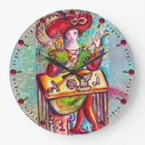 TAROTS OF THE LOST SHADOWS /THE MAGICIAN LARGE CLOCK