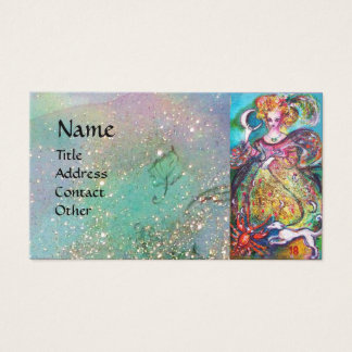 TAROTS OF THE LOST SHADOWS / THE MOON LADY BUSINESS CARD