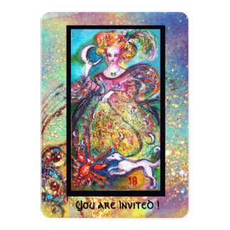 TAROTS OF THE LOST SHADOWS / THE MOON LADY CARD