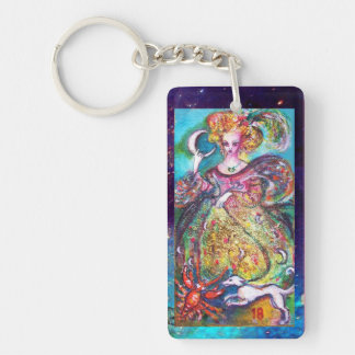 TAROTS OF THE LOST SHADOWS /THE MOON LADY Monogram Keychain