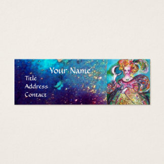 TAROTS OF THE LOST SHADOWS /THE MOON LADY Monogram Mini Business Card