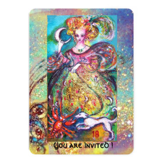 TAROTS OF THE LOST SHADOWS / THE MOON LADY ,Pearl Card