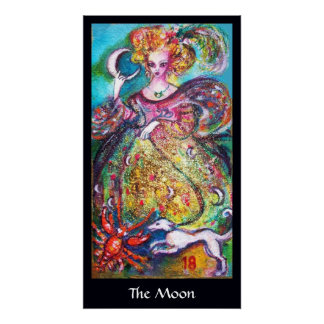 TAROTS OF THE LOST SHADOWS /THE MOON LADY POSTER