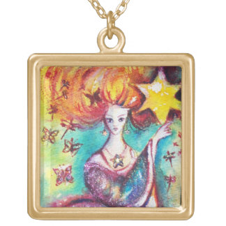 TAROTS OF THE LOST SHADOWS / THE STAR GOLD PLATED NECKLACE