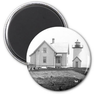 Tarpaulin Cove Lighthouse 2 Inch Round Magnet