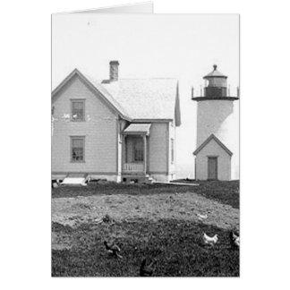 Tarpaulin Cove Lighthouse Card