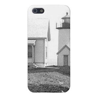 Tarpaulin Cove Lighthouse iPhone SE/5/5s Case