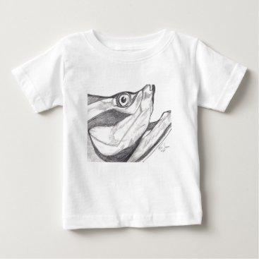 Beach Themed Tarpon Baby T-Shirt