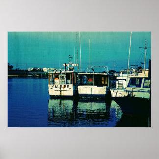 Tarpon Dock Poster