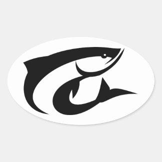 Tarpon Fish Sticker
