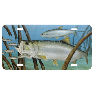 Tarpon in Habitat License Tag License Plate