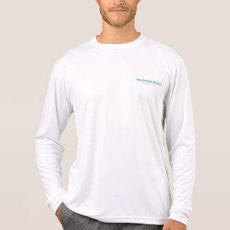 Tarpon Pursuing Mullet Competitor Long Sleeve Tshirt