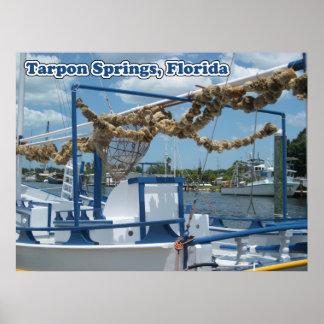 Tarpon Springs Sponge Boat Canvas Print