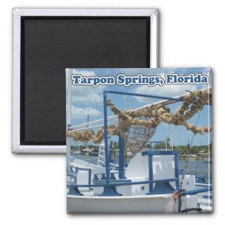 Tarpon Springs Sponge Boat Magnet