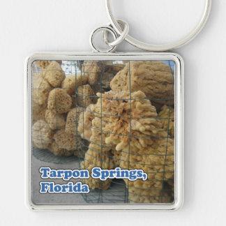 Tarpon Springs Sponges Keychain