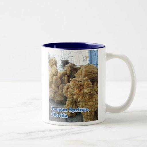 Tarpon Springs Sponges Mug