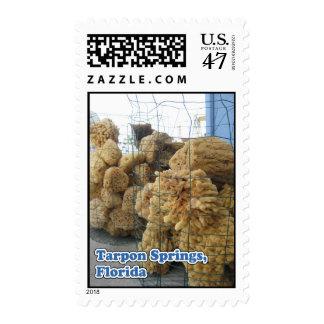Tarpon Springs Sponges Postage Stamps